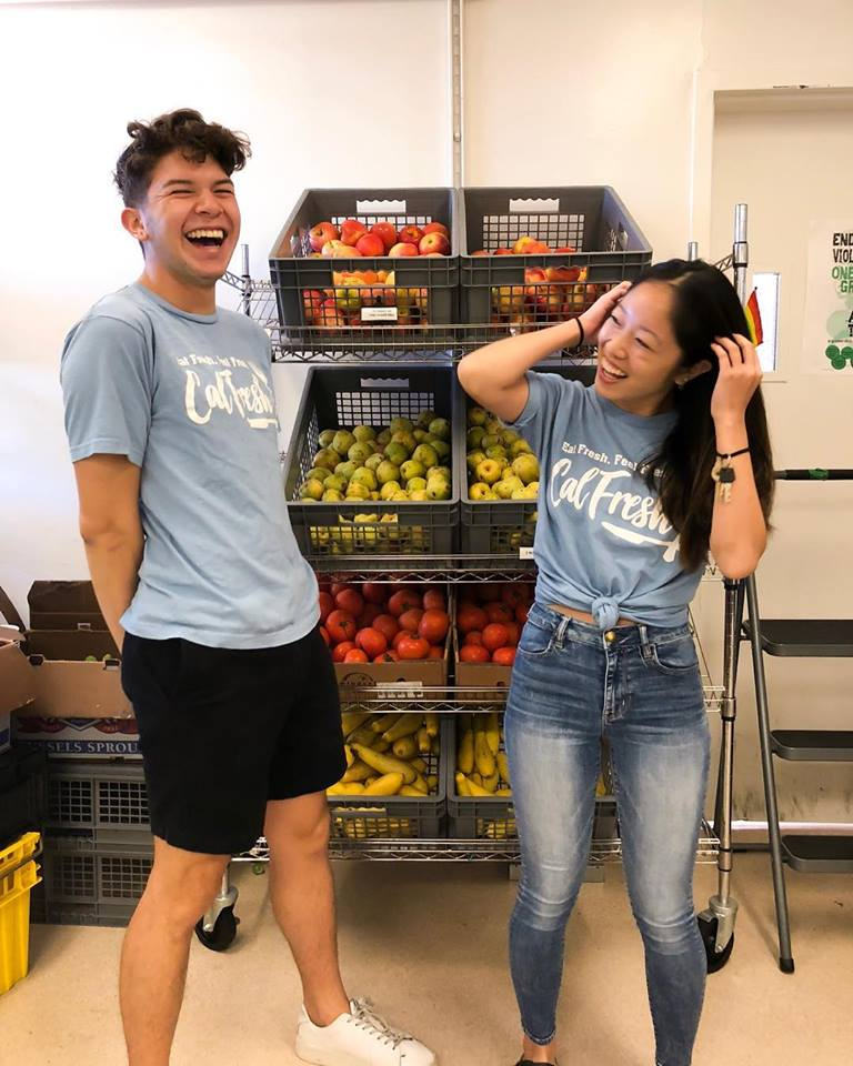 Food Bank with students